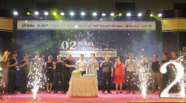Sơn Hà SSP Việt Nam tổ chức Lễ kỷ niệm 2 năm thành lập